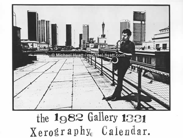 The 1982 Gallery 1331 Xerography Calendar: Cover