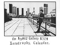 The 1982 Gallery 1331 Xerography Calendar