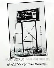 The 1983           Gallery 1331 Xerography Calendar of Musical Dates by Michael Hyatt and Exene Cervenka