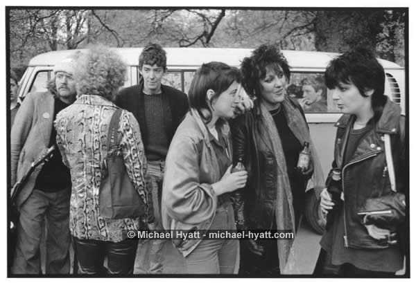 Music Fans & Punk Band The Boy Scouts (Dublin, Ireland, 1979)