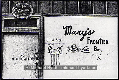 Mary's Frontier Bar