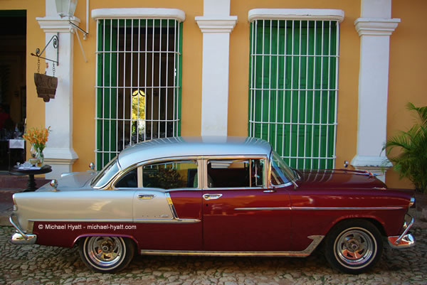1955 Chevy Bel Air-Trinidad, Cuba 2013, Photo by Michael Hyatt
