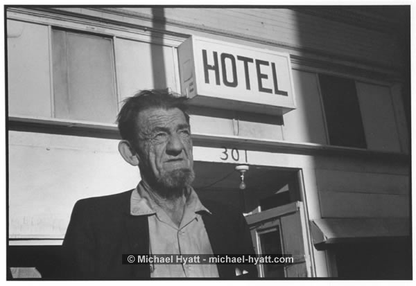 Leonard Graham, Hotel Chapman (5th & Wall Street, Los Angeles, 1975)